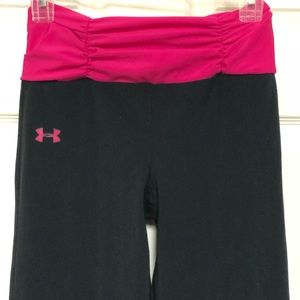 Under Armor pink athletic pants